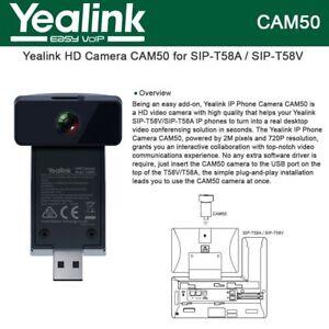 Yealink CAM50 2MP HD Camera for SIP-T58V SIP-T58A T58V T58A IP Phones