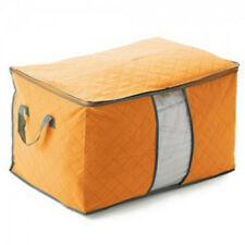 Foldable Home Closet Storage Bag Organizer Box Anti-bacterial Clothes Quilt ON