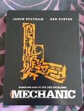The Mechanic Steelbook Blu ray Canadian Edition - Open, Very Good (Statham)