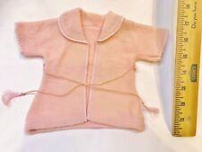"""Vintage 1940's Authentic Effanbee Dy Dee Baby Doll Pink RARE pajama robe 13"""""""