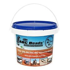 ABC Tyre/Tire Balancing Beads 2.5kgs (88oz) Bucket - M/cycle 4WD Truck Trailer