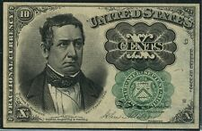 FR1264 10¢ FRACTIONAL 5TH ISSUE GREEN SEAL VERY CHOICE CU CV $575++ BT9910