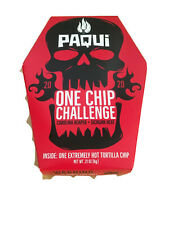 NEW Paqui One Chip Challenge Carolina Reaper Pepper 2020 SUPER HOT