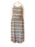 Jeanswest-Silk Cami Maxi Dress-Size 16