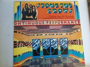 STONE THE CROWS,ONTINUOUS PERFORMANCE,LP ON POLYDOR 2391 043,1972