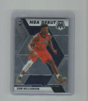 2019/20 Mosaic NBA Debut Zion Williamson Rookie Card #269 ROY Pelicans PF! RC