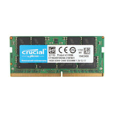 Crucial 16GB 1RX8 DDR4 2400Mhz PC4-2400T 260pin SO-DIMM Notebook RAM Memory #SS