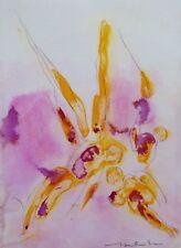 GEFALLENE ENGEL abstrakte moderne ZEICHNUNG Malerei original Kunst BELAUBRE