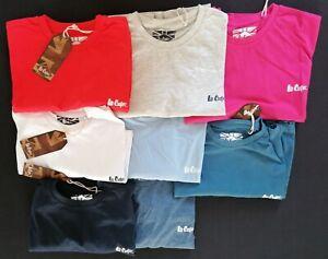 Lot revendeur 54 tshirt lee cooper col rond mix couleurs et taille S à XXL 2€5