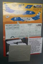 1/144 Skyline Decals Western Pacific Security Service 737-300 Decals SKD1433