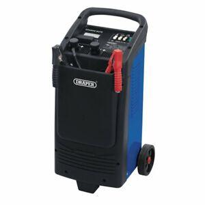 Draper 12v/24V 300A Battery Starter/Charger Fast Charge Large Ammeter & Wheels