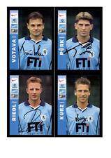 Autogrammkartensatz TSV 1860 München 1999-00 12 Karten Original Signiert(383)