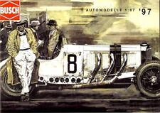 Catalogue Busch Automodelle 1997
