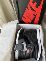 Nike Air Jordan 1 Retro High OG Black Satin Gym Red Men's 555088-060