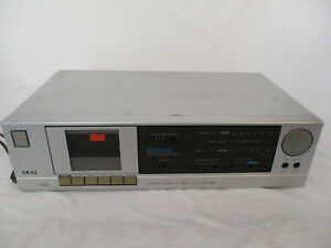 Vintage Akai Stereo Cassette Deck Model HX-A2 Tested Working!