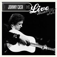 "Johnny Cash - Live From Austin Tx (NEW 12"" VINYL LP)"