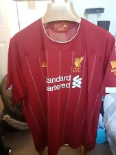 Liverpool Football Shirt Size Adults 2Xl