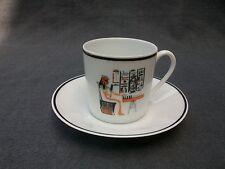 tasse litron en porcelaine de limoges par tharaud série l Egypte ancienne 1