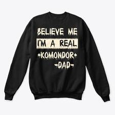 Real Komondor Dad Tee Hanes Unisex Crewneck Sweatshirt