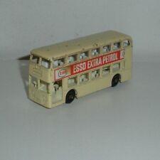 Matchbox Toys, #74 Daimler Double Decker London Bus (Esso Petrol / Gasoline)