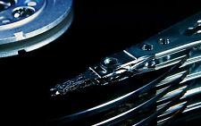 Incorniciato stampa-funzionamento interno di un computer Hard Disc Drive (foto poster arte)