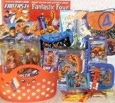 NEW FANTASTIC FOUR MARVEL EASTER TOY GIFT BASKET FIGURE TOYS PLAYSET BIRTHDAY