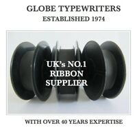 3 x COMPATIBLE *BLACK* TYPEWRITER RIBBON FITS *BROTHER DELUXE 660TR* TOP QUALITY
