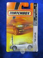 Matchbox Mattel Wheels '08 Lotus Sports Cars 2/17 Silver 2008