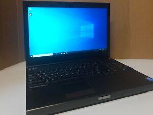 Dell Precision M4800 Core i7-4810MQ @ 2.80GHZ 16GB RAM 500GB SSD WebCam Win10