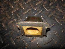 83 Honda CR 60 engine cylinder carburetor carb intake manifold reed valve cage