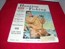 Hunting And Fishing Magazine, August 1950