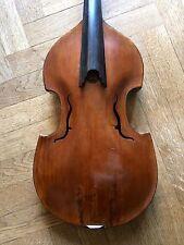 VIOLA DA GAMBA JAISS 1727, 41,3 cm. YOUTUBE SAMPLE! Viola d'amore old antique