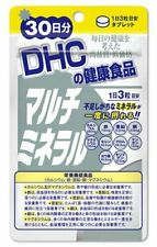 DHC supplements Multi Mineral for 30 days 90 tablets Japan Import