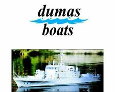 "Dumas 1218, 51"" USS Crocket Boat Kit"