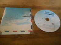 CD Indie Sparkadia - Too Much To Do (1 Song) Promo ARK RECORDS