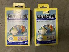 Tetra Correct pH Tablets 80 Gallon Aquariums 8 Count Pet Supplies Fish - 2 Packs
