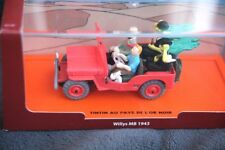 TINTIN MODEL CAR, WILLYS MB 1943 (JEEP): AU PAYS DE L´OR NOIR. BRAND NEW IN BOX!