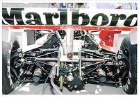 MCLAREN M26 ENGINE SUSPENSION JAMES HUNT CAR BRAZILIAN GP RIO 1978 F1 PHOTOGRAPH