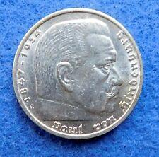 Germany 5 mark 1935 A III Reich Silver coin VF-XF