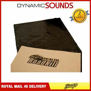 Stinger Stealth Roadkill Sound Deadening Proofing Sheet Dynamat 18x32