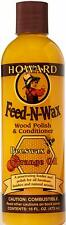 Howard Products FW0016 Feed-N-Wax Wood Polish