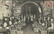 CPA - 51 Travail du vin de Champagne - Le Tapotage