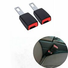 2Pcs Car Safety Seat Belt Extender Buckle Universal Extension Clip Alarm Stopper