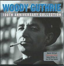 Woody Guthrie - 100th Anniversary Collection - 100 Tracks (5CD 2013) NEW/SEALED