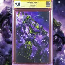 TRANSFORMERS GALAXIES #1 VIRGIN VARIANT CGC 9.8 SS SIGNED BY CLAYTON CRAIN W/COA