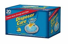 Disposer Care Foaming Garbage Disposer Cleaner w/ Bleach 20pcs by Summit Brands