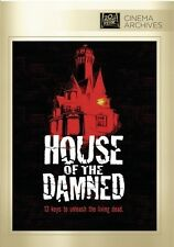 HOUSE OF THE DAMNED  - DVD - UK Compatible