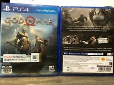 PS4 GOD OF WAR CHINESE / ENGLISH VERSION NEW & SEALED!