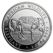2020 Somalia 1 oz Silver Elephant BU