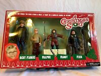 Neca Reel Toys A Christmas Story Scut Farkus Ralphie Randy Flick Box Set Sealed